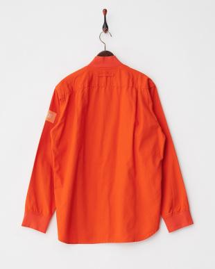 ORANGE  MA-1型シャツ見る