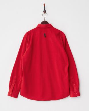 RED  フリースシャツ見る