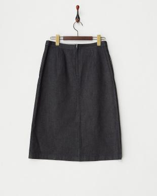 インディゴ  デニムタイトスカート見る