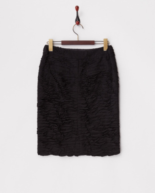 ブラック アンタレスDEUX テープ刺繍スカート見る