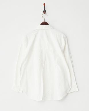 WHITE 綿オックスビックシャツ見る