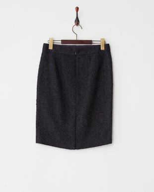 ネイビー  フローレンスツィードスカート見る