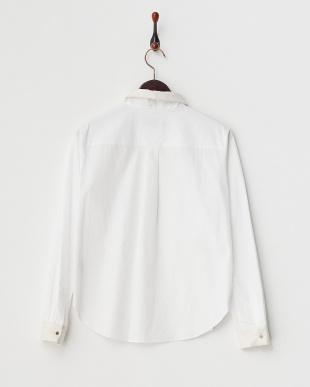 ホワイト サイロブロードシャツ見る