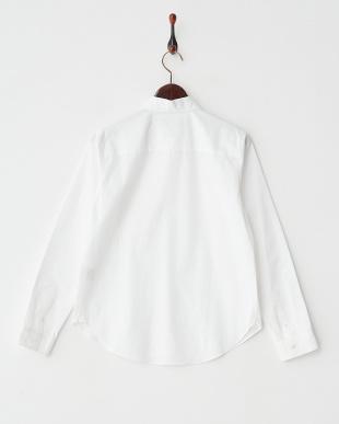ホワイト PORTLANDシャツ見る