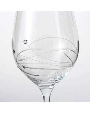 ゴルウェイクリスタル シック ペア ホワイトワイン見る