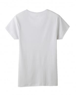 ライトグレー  YV0117N VネックTシャツ見る