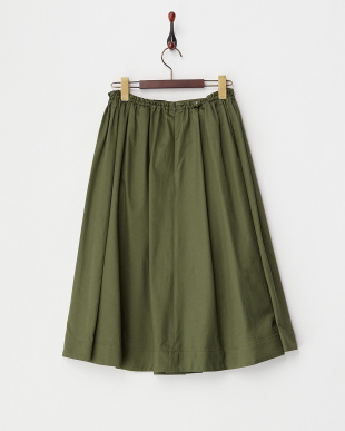 OLIVE  ウエストゴム&ドロストギャザースカート見る