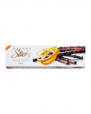 オレンジ  カーレッティ スティックチョコレート 3個セット見る