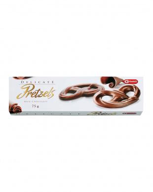 ミルクチョコレート プレッツェル 3個セット見る