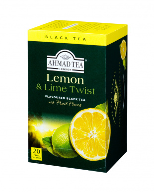 レモン&ライム  フルーツフレーバーティー ティーバッグタイプ 2個セット見る