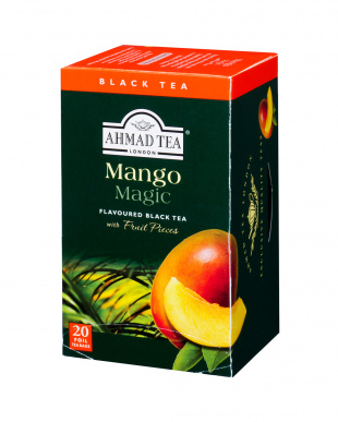 マンゴー  フルーツフレーバーティー ティーバッグタイプ 2個セット見る