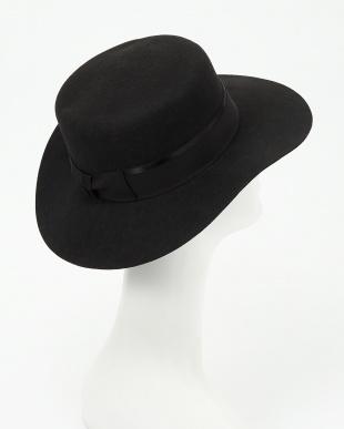 BLACK RBS BOATER HAT見る