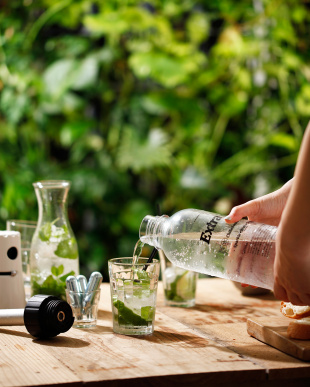 シルバークロム SodaSparkle シングルボトル(1.0L)スターターキット見る