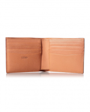 ブルー  アドバンレザー2つ折財布(純札)日本製見る