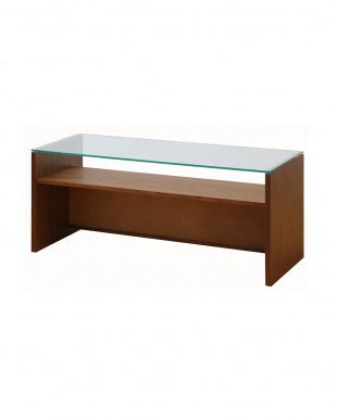 ブラウンクリア アンセムガラステーブル見る