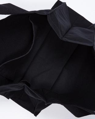 BLACK  キャンバストートバッグ Lサイズ見る