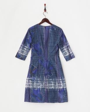 MAZARINE BLUE M/S DRESS見る