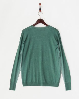 EMERALD L/S V NECK SWEATER見る