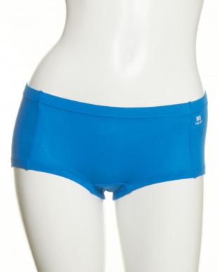 ブルー×グレー  2色セット・やさしい綿混 ボクサーショーツ見る