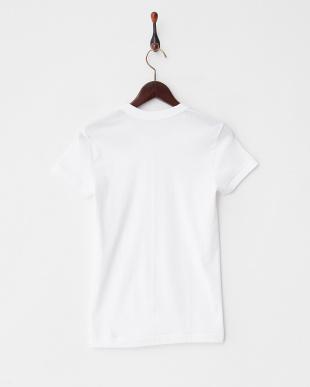 ホワイト  別注 140th クルーネックTシャツ見る