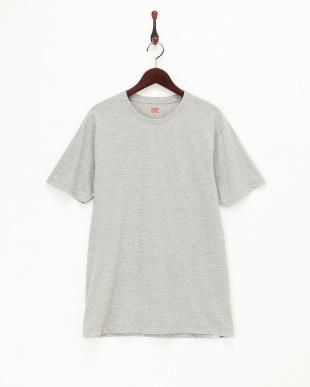 グレー  クルーネックTシャツ2枚組見る