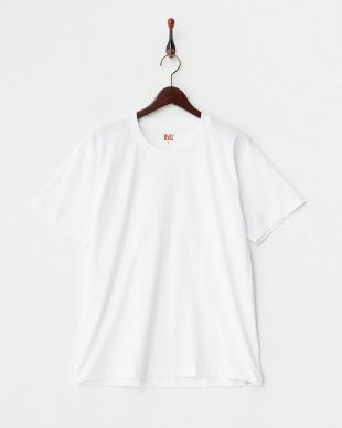 ホワイト 吸水速乾 クルーネックTシャツ 2枚組見る