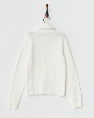 ホワイト  ジップアップジャケット|KIDS見る