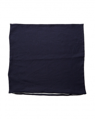 ネイビー  フレンチリネンザブカバー 55×59cm見る
