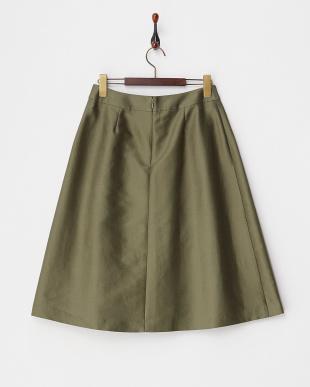 olive  コットンシルクスカート見る