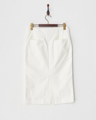 white  マリンタイトスカート見る
