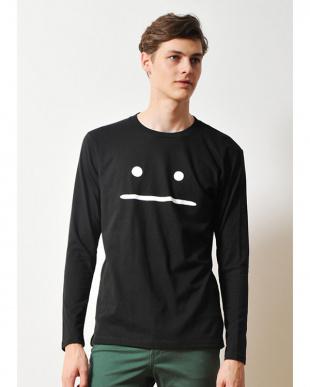 ブラック 長袖Tシャツ ビューティフル シャドー ズーム見る