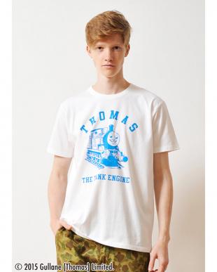 ホワイト Tシャツ トーマス アンド フレンズ トーマス カレッジ見る