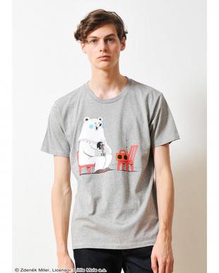 ヘザー グレー Tシャツ クルテク クルテク アンド ベア見る