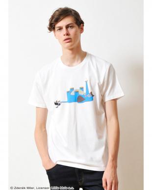 ホワイト Tシャツ クルテク クルテク アンド エレファント見る
