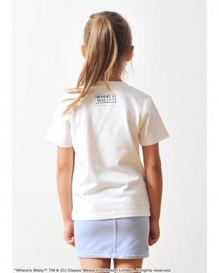 ホワイト キッズTシャツ ウェアーズ ウォーリー コンティニュー ザ サーチ見る