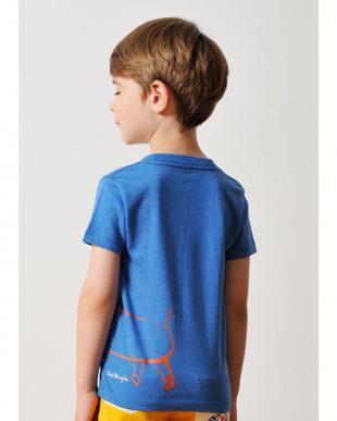 ヘザー ブルー キッズTシャツ フレッド バナリヤ ザ オレンジ ドッグ見る
