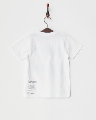 ホワイト キッズTシャツ アローン タイム見る
