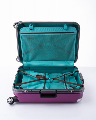 パープル  トラストL スーツケース見る