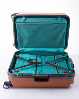 オレンジ  トラストLL スーツケース見る