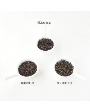 日本の和紅茶を楽しむセット(有機嬉野和紅茶、有機霧島和紅茶、有機月ヶ瀬和紅茶)見る