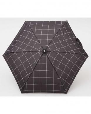 チェックW80  totes line Mini Manual 手動開閉折りたたみ傘見る