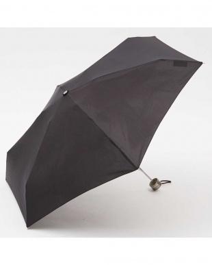 ブラック  手動開閉折りたたみ傘セット見る