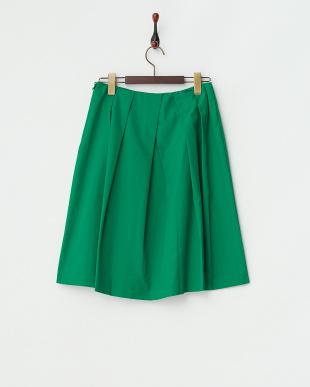 グリーン  ソフトタフタスカート見る