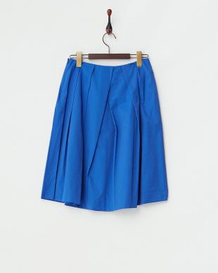 ブルー  ソフトタフタスカート見る