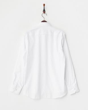 ホワイト ストライプシャツ見る