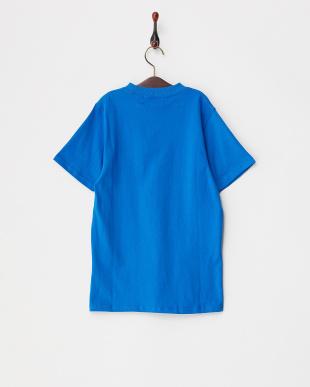 BLU  キッズ アメリカ国旗柄プリントTシャツ見る
