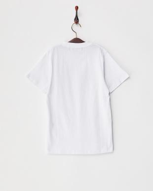 WHT  キッズ アメリカ国旗柄プリントTシャツ見る
