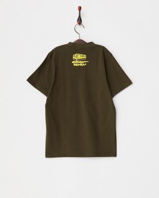KHA  キッズ ペイント風プリントTシャツ見る