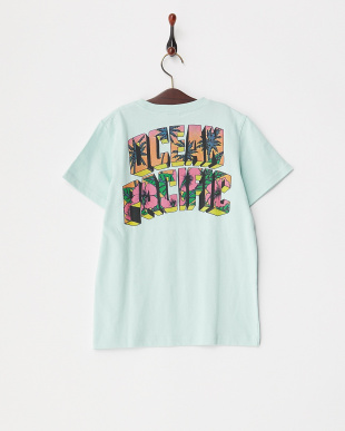 BLU  キッズ バックロゴプリント Tシャツ見る