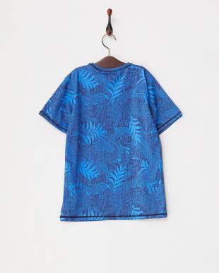 BLU  キッズ リーフ柄 UV Tシャツ見る